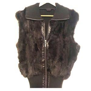 **Faux fur jacket **